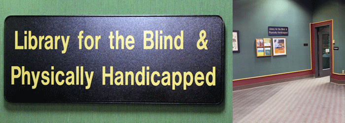 Library for the Blind & Physically Handicapped