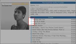Screenshot showing the Download Now link for a song on Freegal.