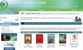 Digital Media Zone screenshot