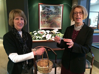Excecutive Director Laurel Best and Deputy Director Sue Royer