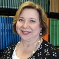 Portrait of Susan Markham, Director of Institutional Advancement, HMCPL