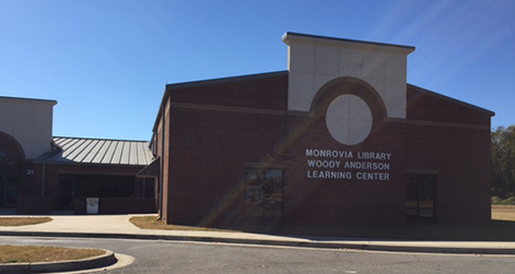 Exterior of Monrovia Public Library